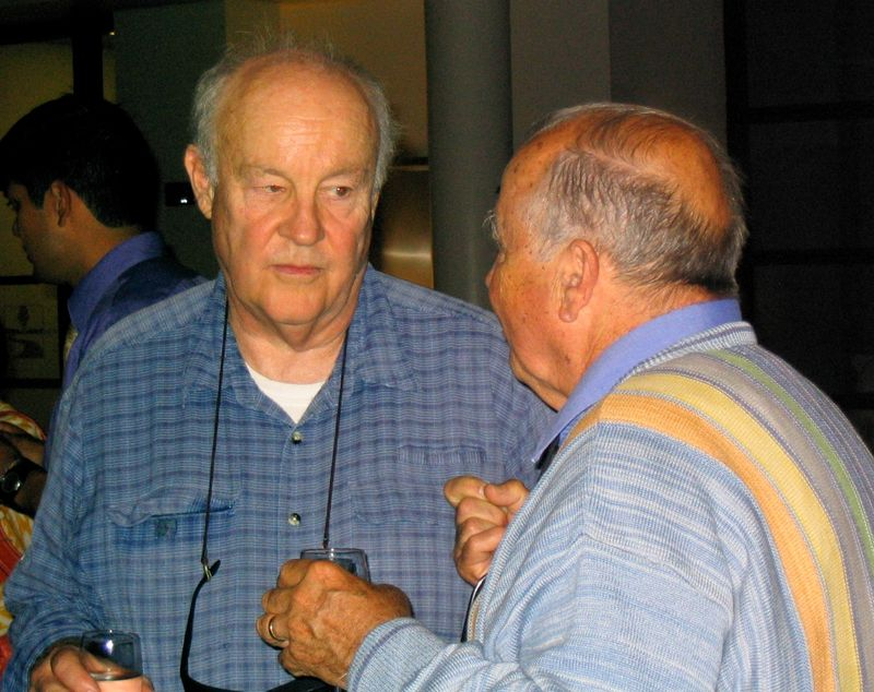 Jerry Cohen and Chris Hartmire